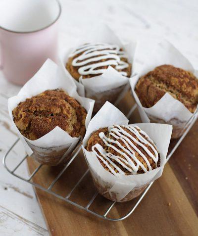 muffins almendra y canela