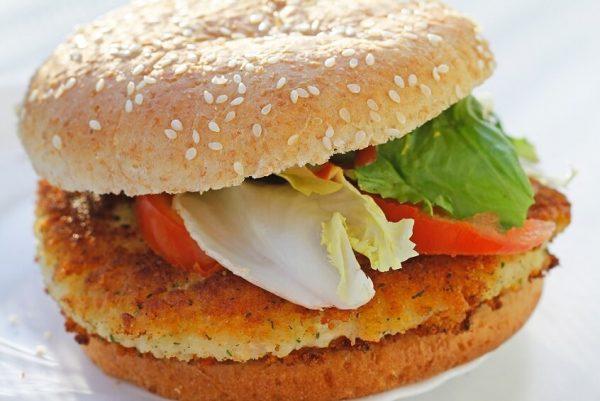hamburguesa-vegetal-garbanzos-champiñones-almendras