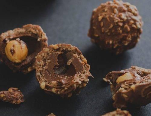 Bombones Ferrero caseros y saludables
