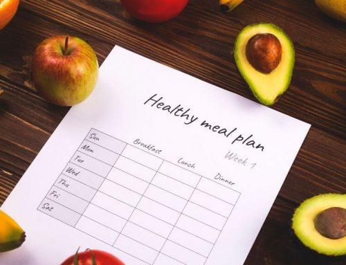Cómo planificar tu alimentación