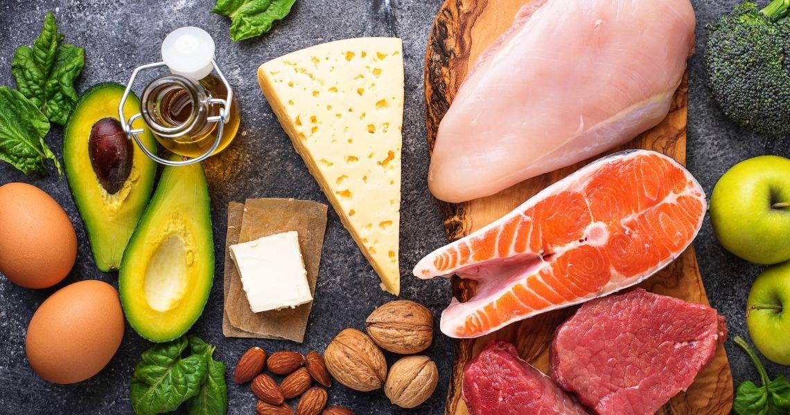 funte de nutrientes dieta cetogenica