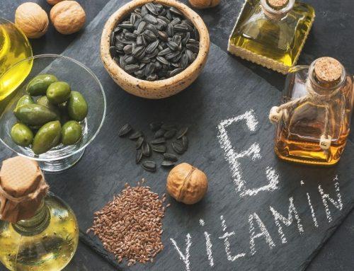 La vitamina E y su poder antioxidante