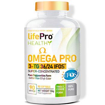 LIFE PRO OMEGA 3 PRO IFOS TG36/24 90 SOFTGEL