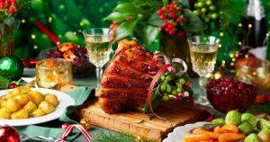 alimentación en navidad