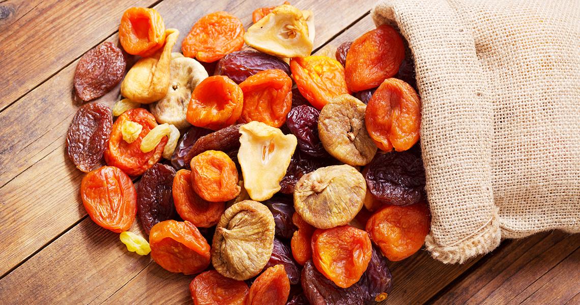 Todo lo que debes saber sobre la fruta deshidratada